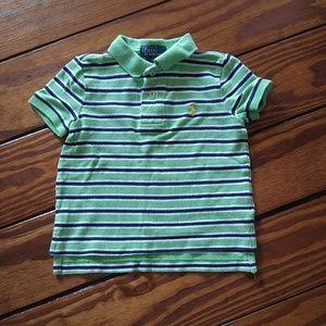 RALPH LAUREN polo baby toddler boys top tee